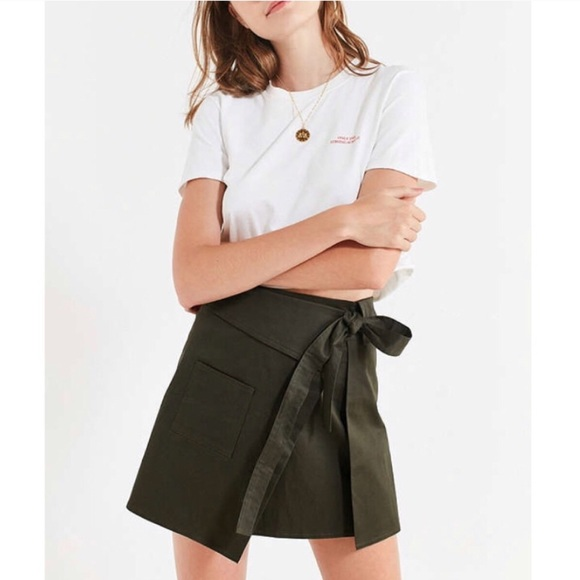 Urban Outfitters Dresses & Skirts - NWT UO Green Wrap Skirt
